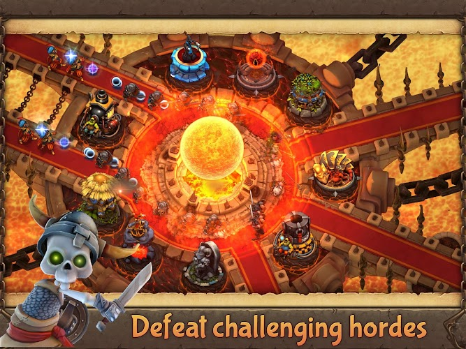 Evil Defenders v1.0.16 APK+DATA (Unlimited Money) - screenshot