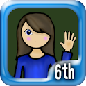6th Grade Math Genius icon