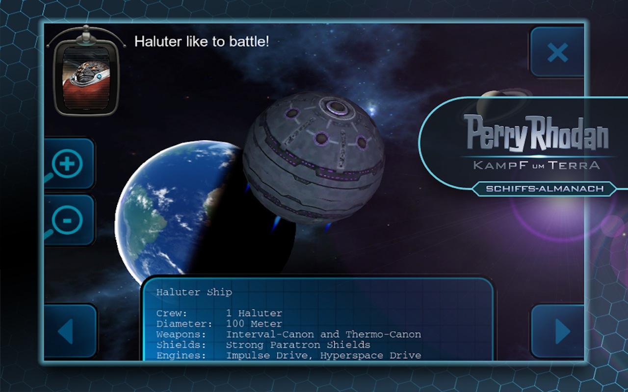 Kampf um Terra Schiffsalmanach - screenshot