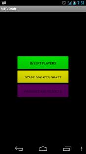 MTG Draft Beta