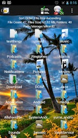 Shady File Manager (root) Free Screenshot 1