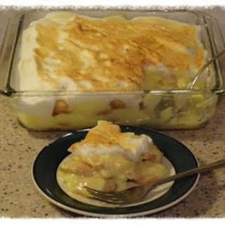 Homemade Banana Pudding.