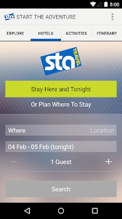 STA Travel - screenshot thumbnail