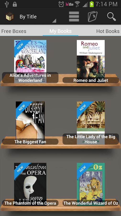 [Free e-Book] BookBox Reader- screenshot