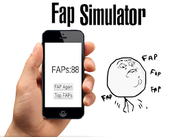 Screenshot of Fap Simulator
