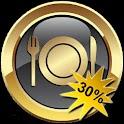 Rabat på dit restaurantbesøg logo