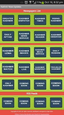 Kashmir News Update - screenshot