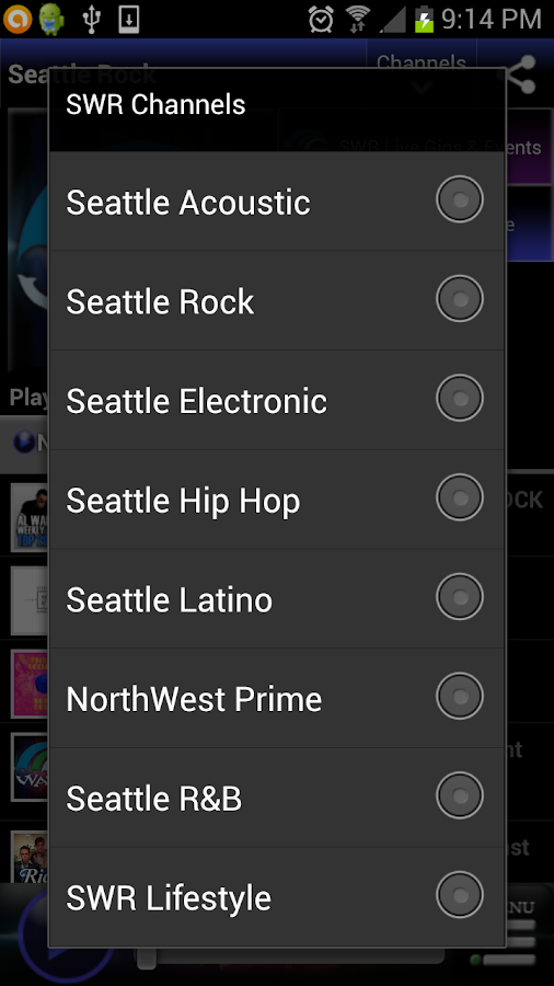 Seattle Wave Radio- screenshot