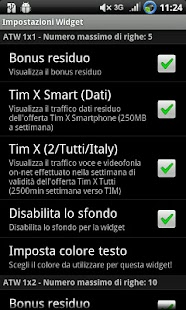 AndroTimWidget Pro via sms - screenshot thumbnail