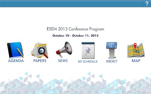 ESEM - screenshot thumbnail