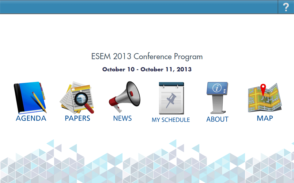 ESEM - screenshot