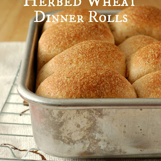 Herbed Wheat Dinner Rolls