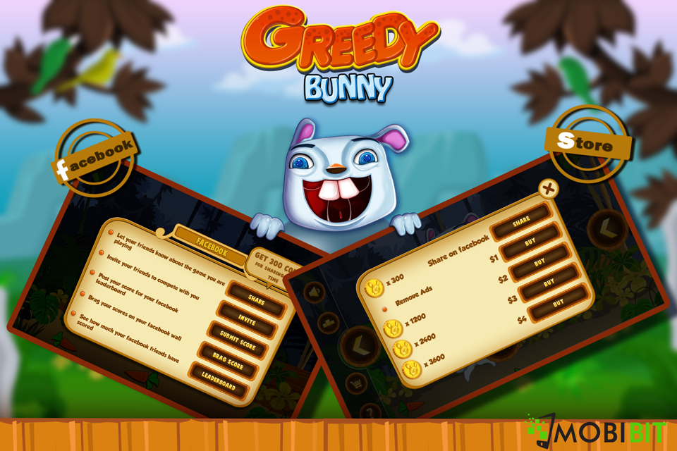 Greedy Bunny - War for Hunger- screenshot