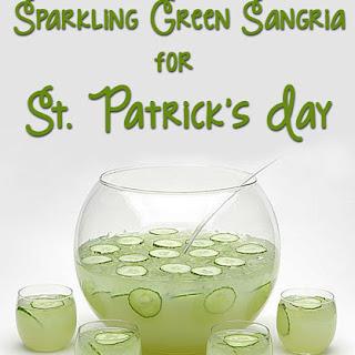 Sparkling Green Sangria
