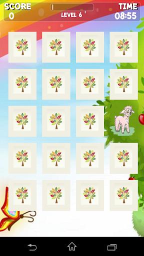 Happy Sheep Memory Game
