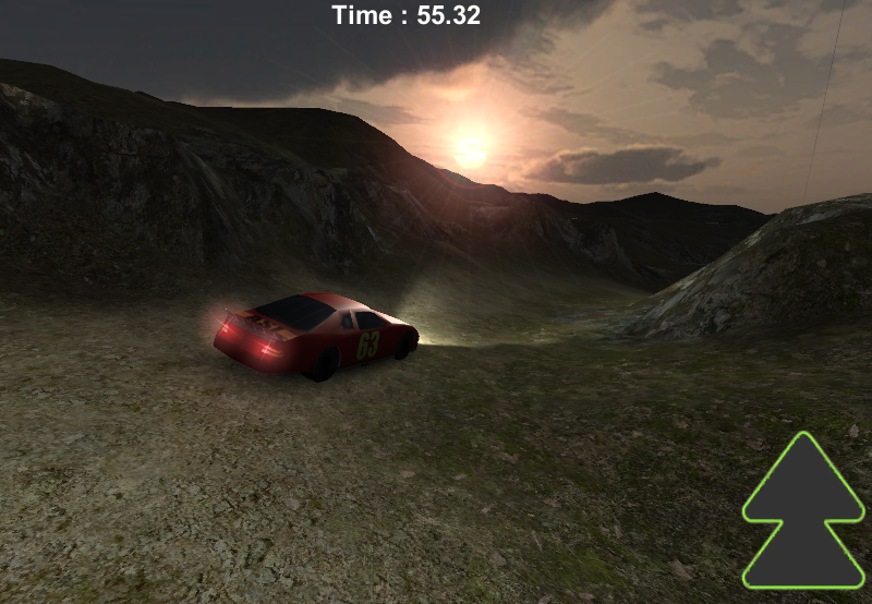 Speed Stage: 3D Rally RED - screenshot