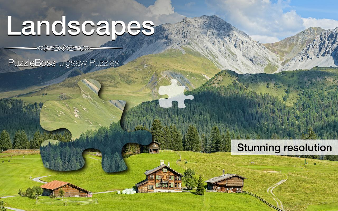 Jigsaw Puzzles: Landscapes - Android Apps on Google Play