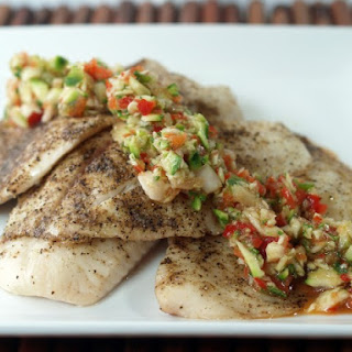 Tilapia With Zucchini Relish