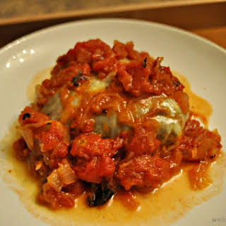 Lentil Stuffed Cabbage.