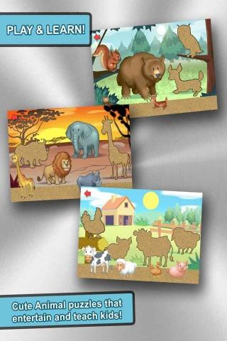 Toddler Learning Games Puzzle