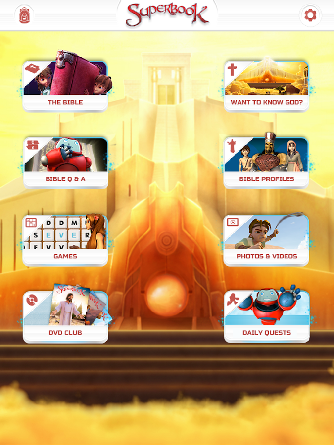 Superbook Bible, Video & Games - screenshot