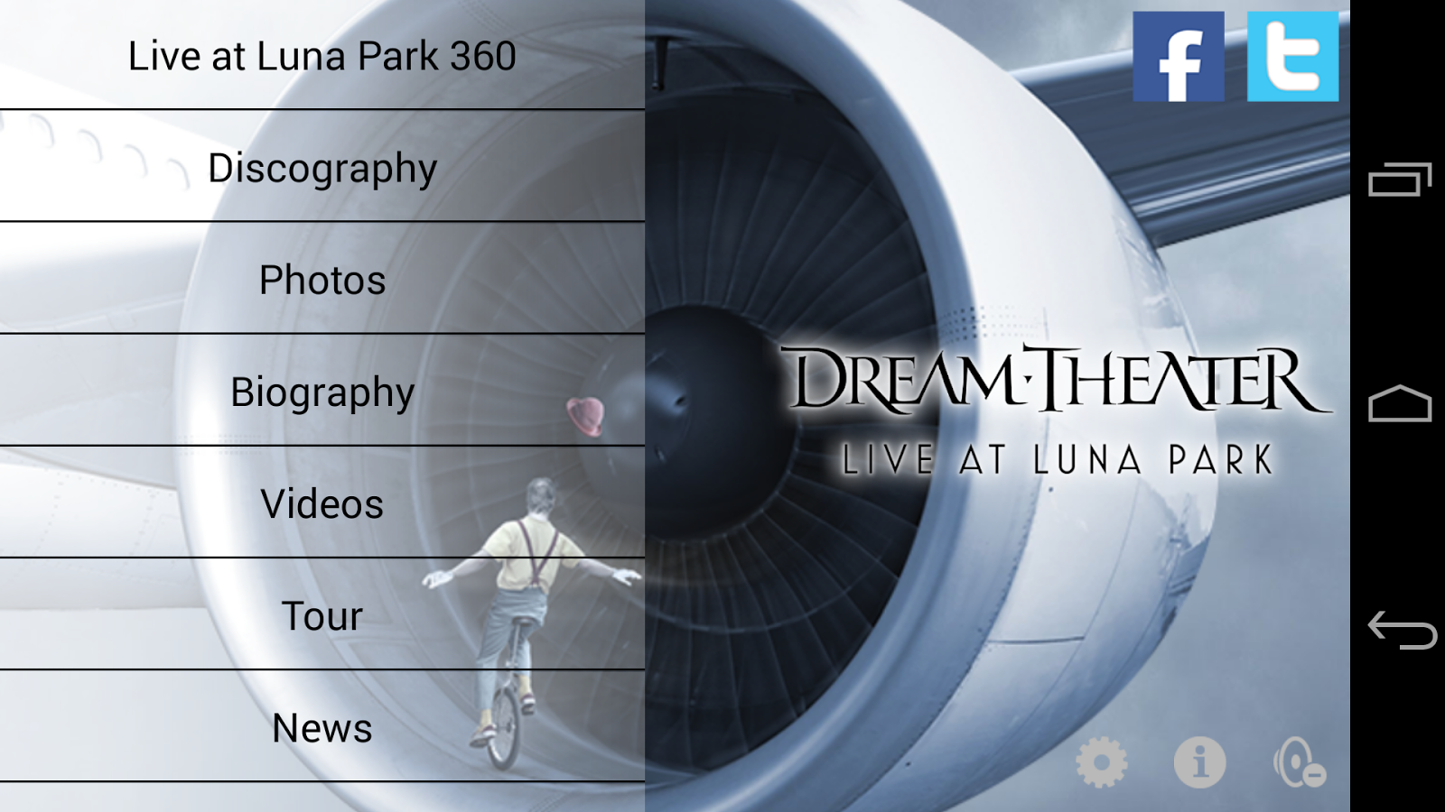 Dream Theater 360- screenshot