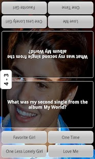 Justin Bieber Test Quiz - screenshot thumbnail