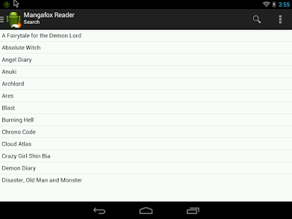 Mangafox Reader - Manga reader - screenshot thumbnail