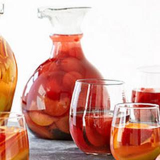 Watermelon-Plum Sangria Recipe