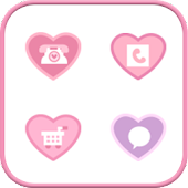 Pink Lady Icon Style