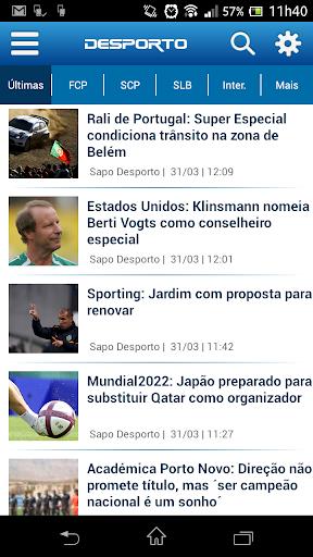 Notícias de Desporto