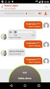 Prip - Nextel push to talk - screenshot thumbnail