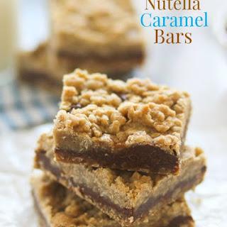 Nutella Caramel Bars