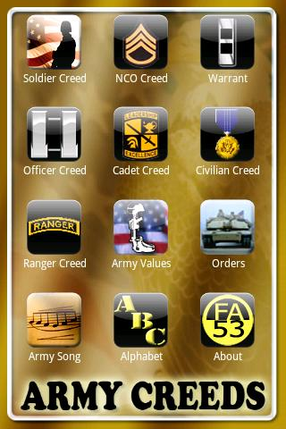 Army Creeds - screenshot