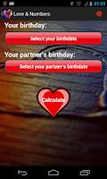 Screenshot of Love & Numbers