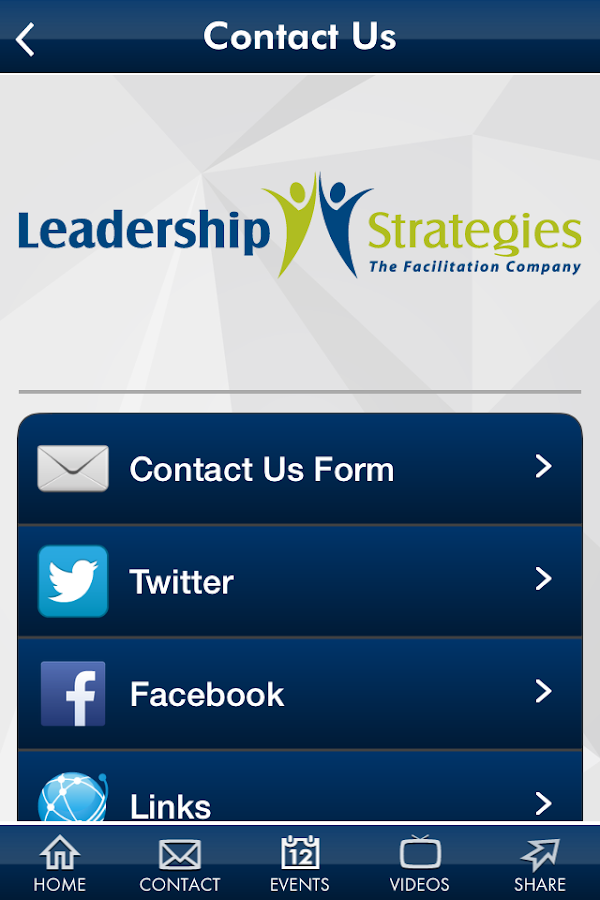 Leadership Strategies- screenshot