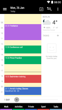 Business Calendar 2- screenshot