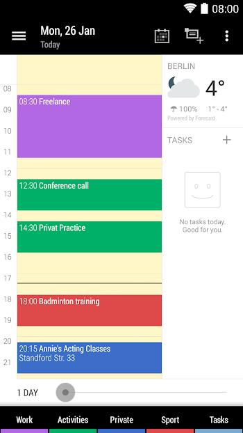 Business Calendar 2- screenshot