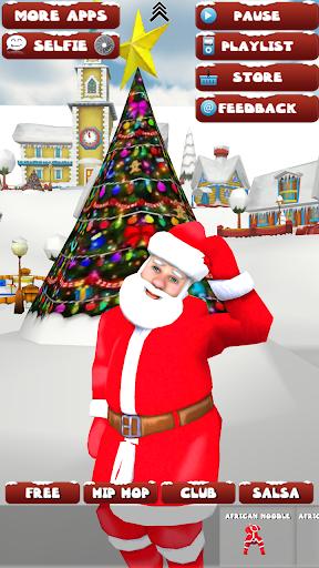 Selfie Dancing Santa Booth 3D