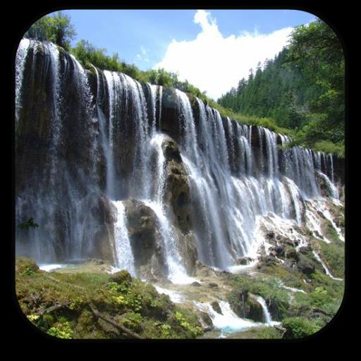 瀑布動畫壁紙 個人化 App LOGO-APP試玩