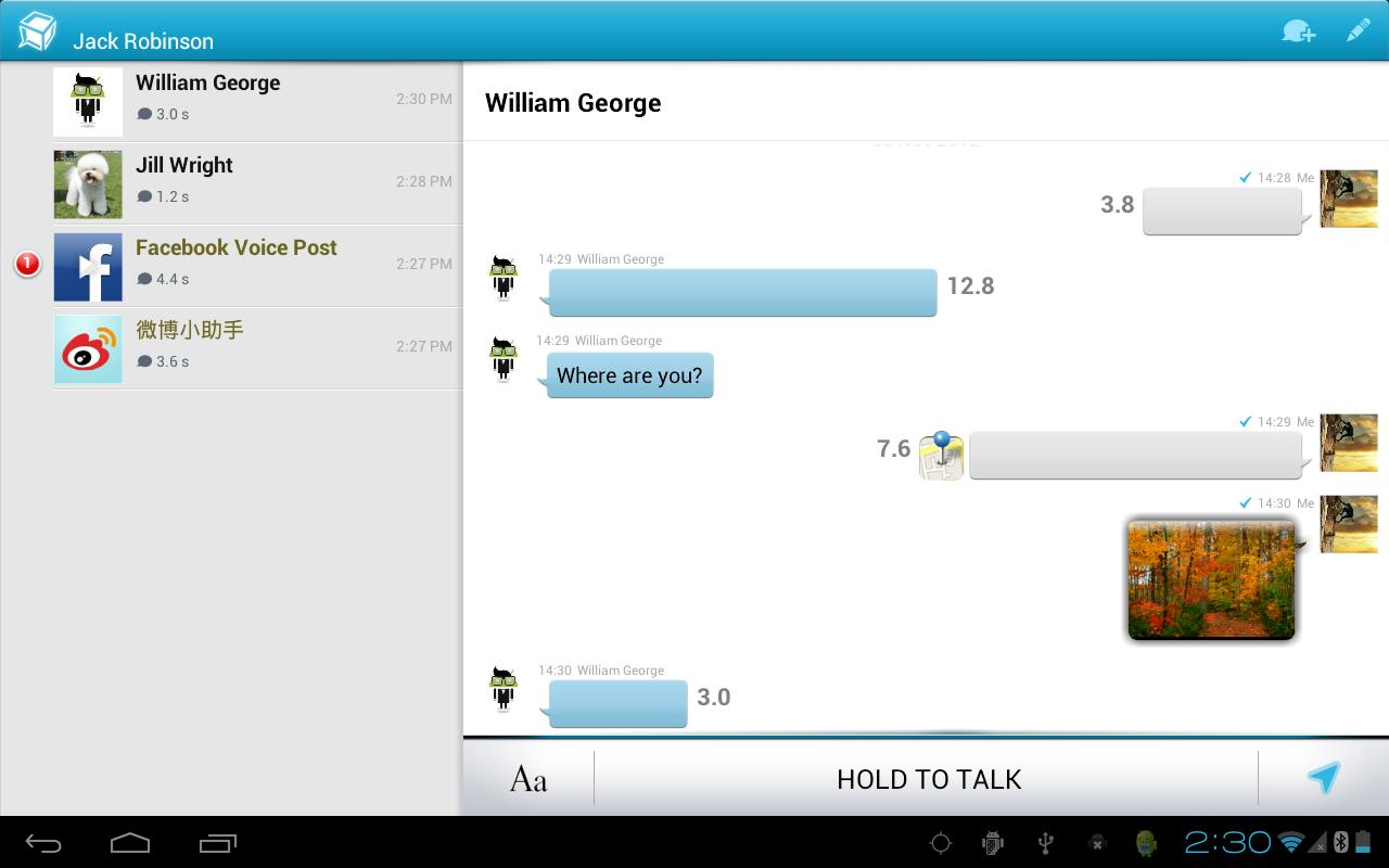 TalkBox Voice Messenger - PTT - screenshot