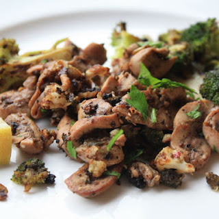 Sautéed Kidneys with Broccoli, Anchovies, and Chili Pepper