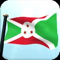 Burundi Flag 3D Free Wallpaper icon