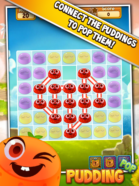 Pudding Pop – Connect & Splash v1.7.1 [Mod]