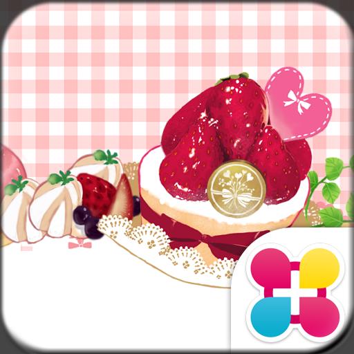 粉色甜點&方格條紋布 for[+]HOME 個人化 App LOGO-APP試玩