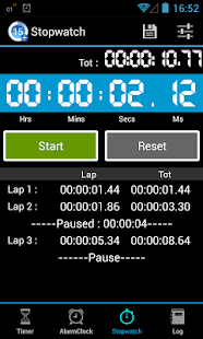Timers4Me Timer&Stopwatch Pro - screenshot thumbnail