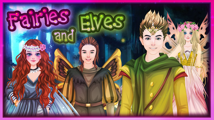 Fairies and Elves - Fairy Game - screenshot