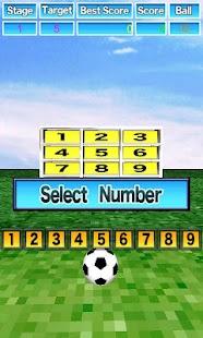 Kicker gra cel piłka nożna - screenshot thumbnail