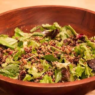 "Spicy Bean and Quinoa Salad with ""Mole"" Vinaigrette."