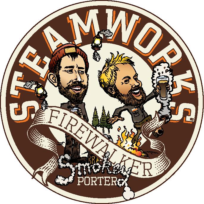 Logo of Steamworks Firewalker Smokey Porter